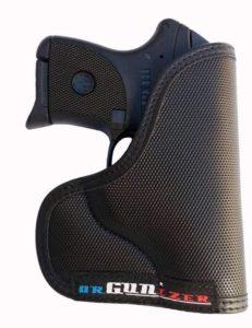 Garrison Grip Custom Fit Leather-Trimmed Poly Pocket Holster